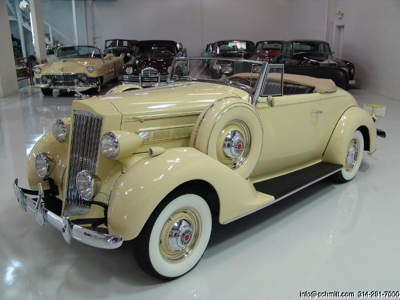 1937 PACKARD 115C CONVERTIBLE – Daniel Schmitt & Co  Classic
