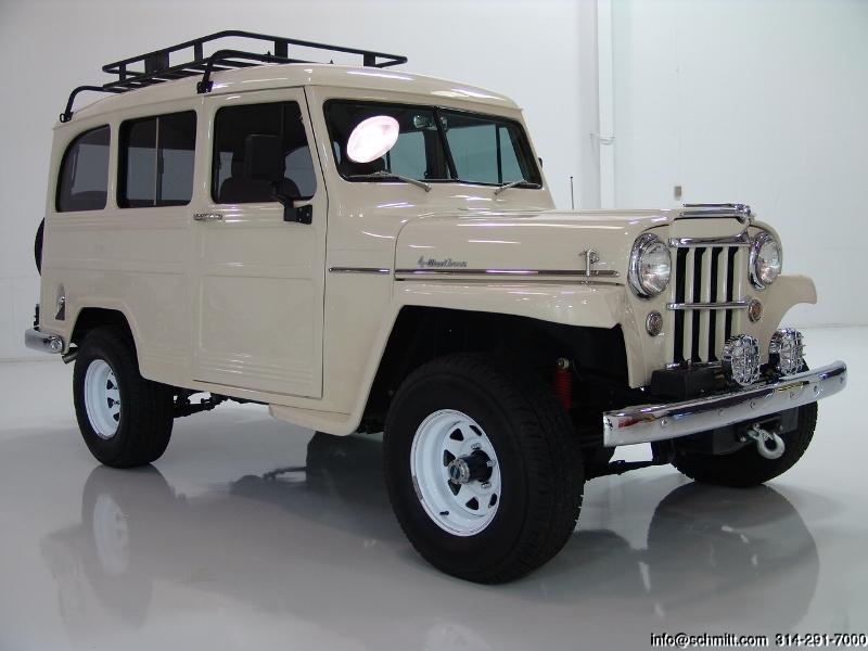 1951 WILLYS OVERLAND 4-WHEEL DRIVE WAGON – Daniel Schmitt & Co