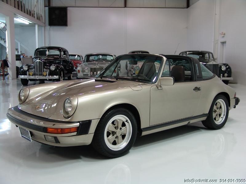 1986 Porsche 911 Carrera Targa Daniel Schmitt Co Classic Car Gallery