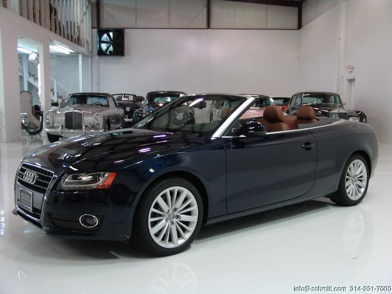 2011 audi a5 cabriolet quattro 2 0 t premium plus package only 1 800 miles daniel schmitt. Black Bedroom Furniture Sets. Home Design Ideas