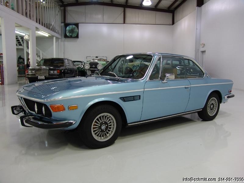Bmw 3 0 Cs For Sale >> 1972 Bmw 3 0 Cs Coupe Daniel Schmitt Co Classic Car Gallery