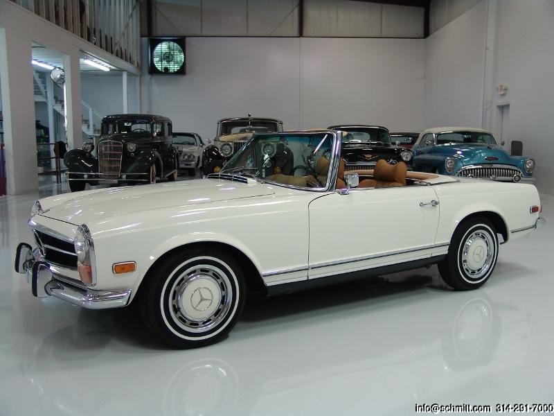 Mercedes benz 1970 convertible
