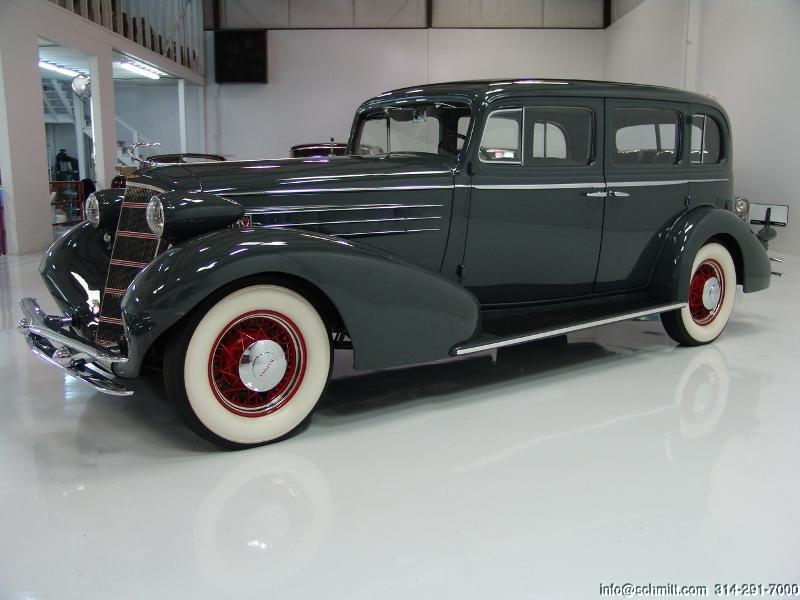"""1934 CADILLAC SERIES 20 MODEL 355D SEDAN - 136"""" WHEEL-BASE — Daniel"""