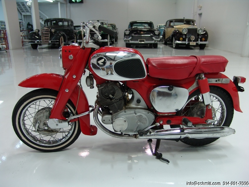 Honda Financing Rates >> 1967 HONDA 305 DREAM – Daniel Schmitt & Co. Classic Car Gallery