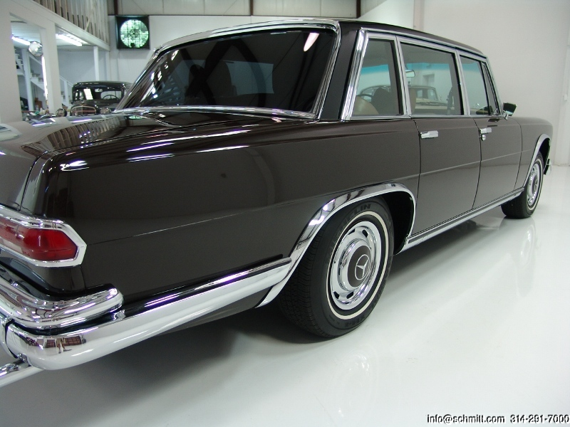 1968 MERCEDES-BENZ 600 SWB LIMOUSINE – Daniel Schmitt & Co