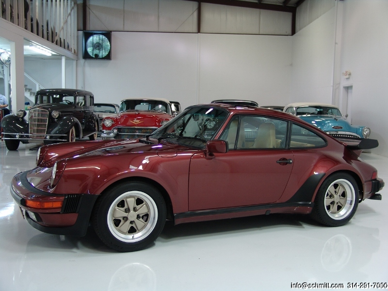 1986 Porsche 911 Turbo Daniel Schmitt Company