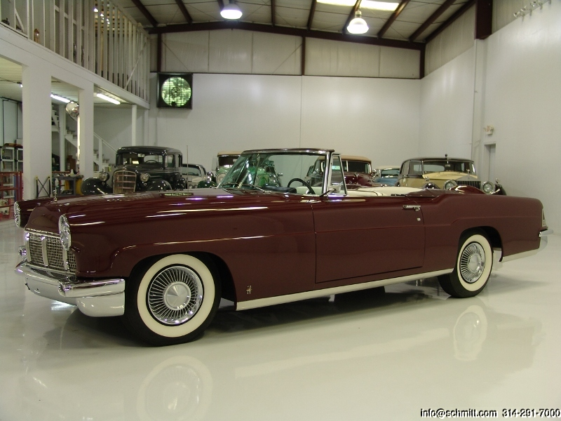 1956 Lincoln Continental Mark Ii Convertible Daniel Schmitt Company