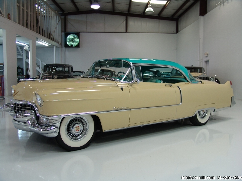 Classic Cadillacs For Sale >> 1955 CADILLAC COUPE DEVILLE 2-DOOR HARDTOP — Daniel ...