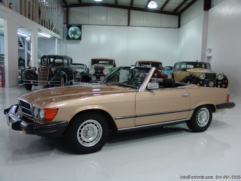 1981 mercedes benz 380sl roadster daniel schmitt company for 380sl mercedes benz