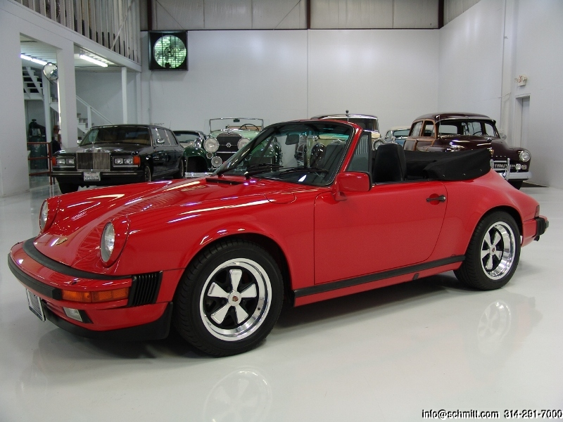 1986 porsche 911 cabriolet daniel schmitt company. Black Bedroom Furniture Sets. Home Design Ideas
