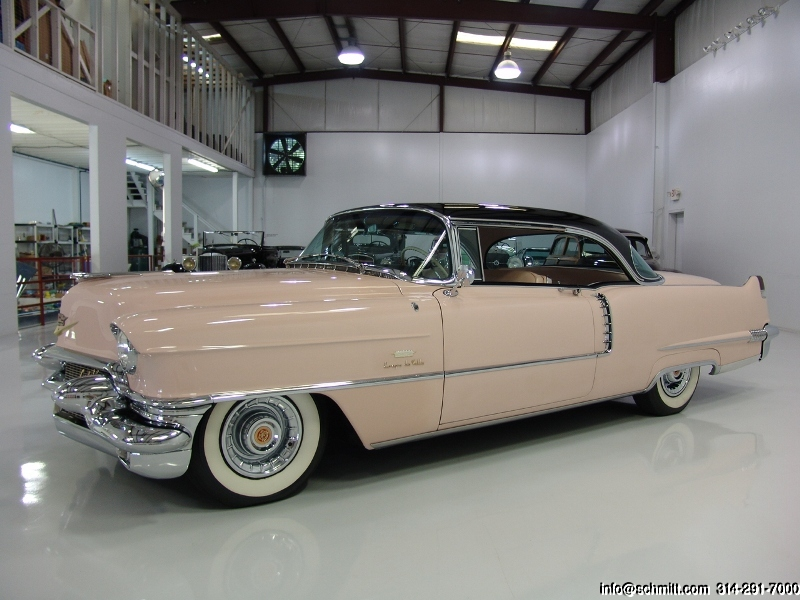 1956 cadillac deluxe coupe deville 2 door hardtop daniel for 1956 cadillac 4 door sedan