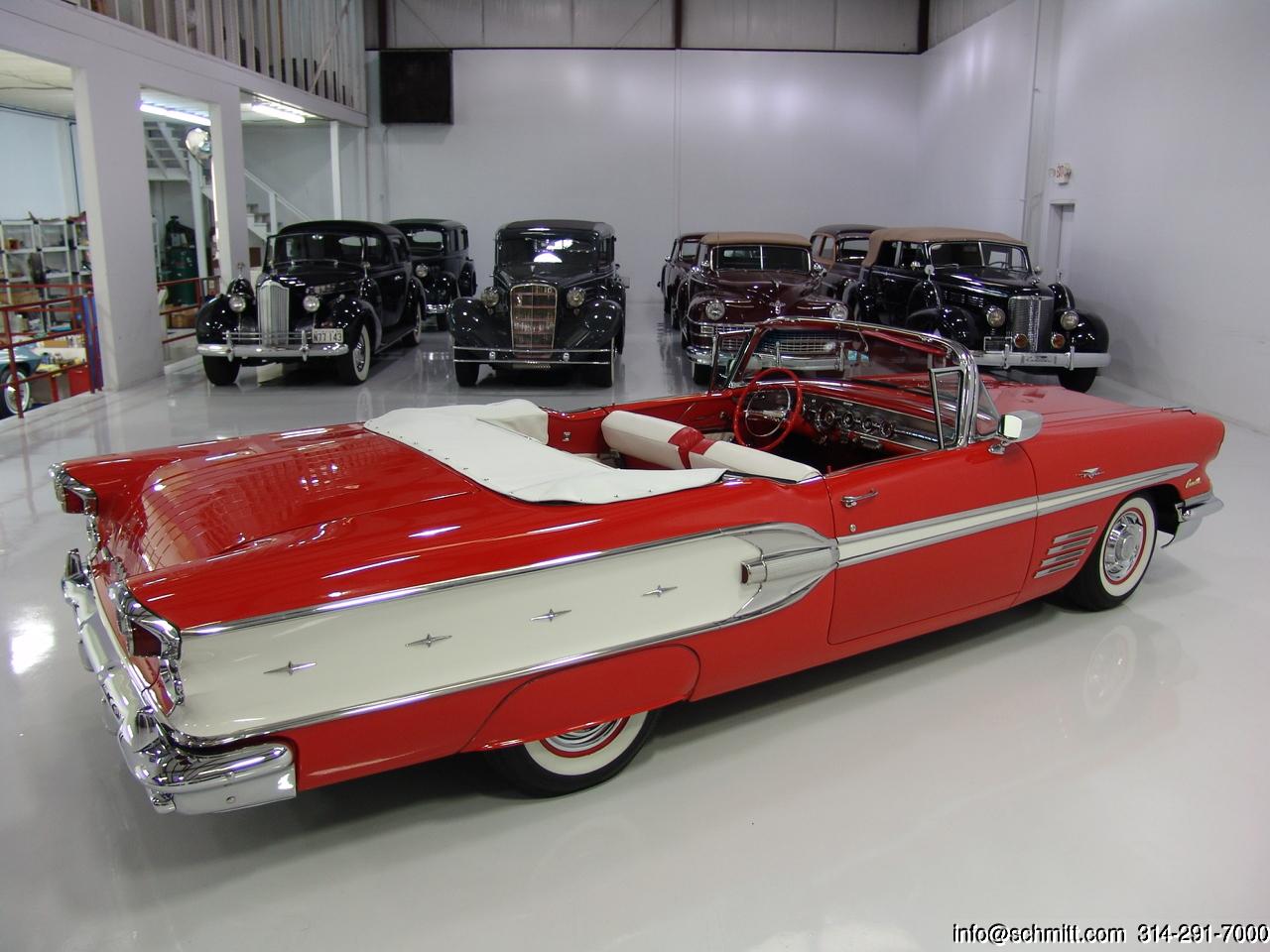 1958 Pontiac Bonneville Convertible Daniel Schmitt Co Classic Car Gallery