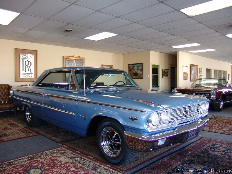 1963 FORD GALAXIE 500 2-DOOR HARDTOP FASTBACK – Daniel