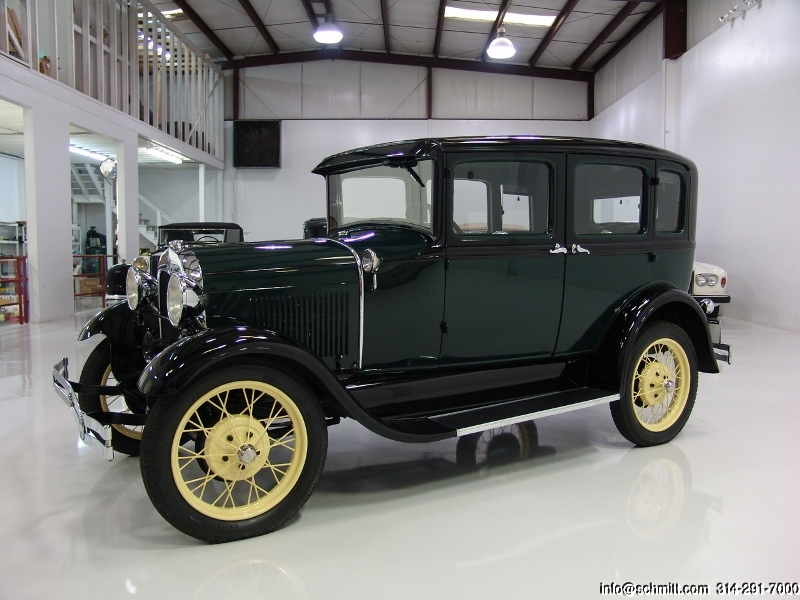 1929 ford model a town sedan daniel schmitt company. Black Bedroom Furniture Sets. Home Design Ideas