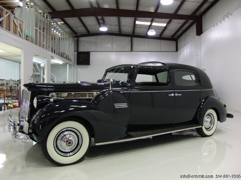 1940 PACKARD 180 FORMAL SEDAN TOWN CAR — Daniel Schmitt & Company