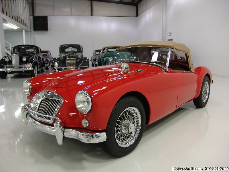 1957 mga roadster daniel schmitt company additional photos