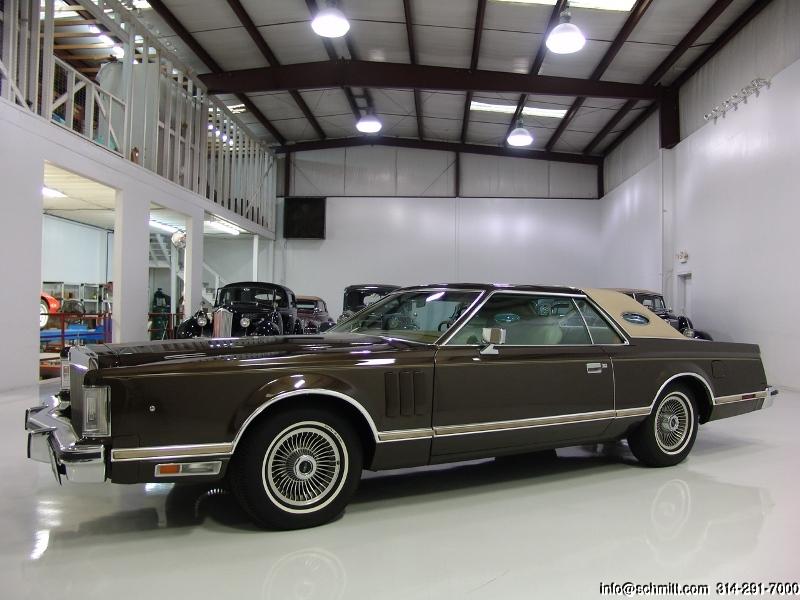 1979 Lincoln Continental Mark V 2 Door Coupe Daniel Schmitt Company