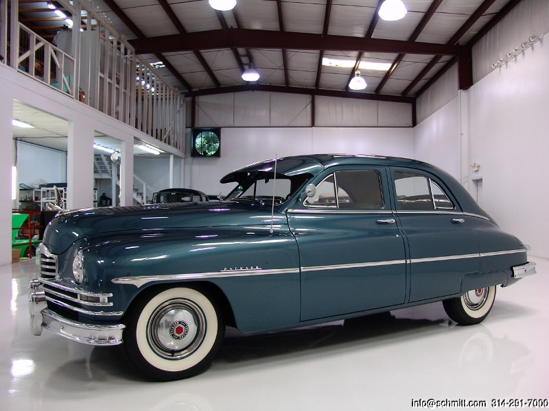 1950 PACKARD STANDARD 8 SEDAN – Daniel Schmitt & Co  Classic