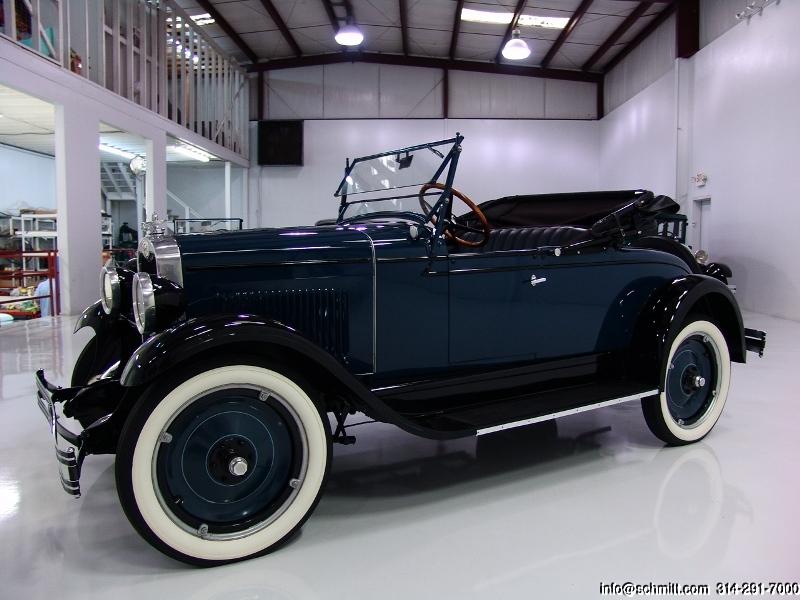 1928 CHEVROLET NATIONAL SERIES AB 2-DOOR ROADSTER — Daniel Schmitt