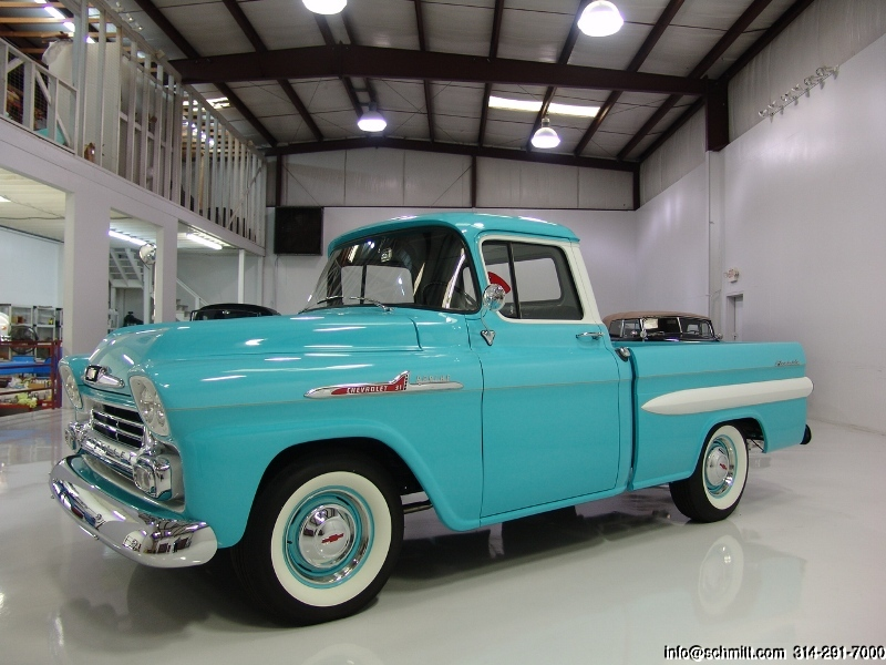 1958 Chevy Apache For Sale >> 1958 Chevrolet Apache Pickup Daniel Schmitt Co Classic