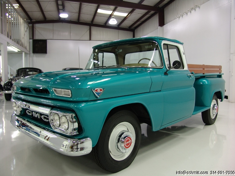 1963 Gmc 1500 Custom Cab Wideside Pickup Daniel Schmitt