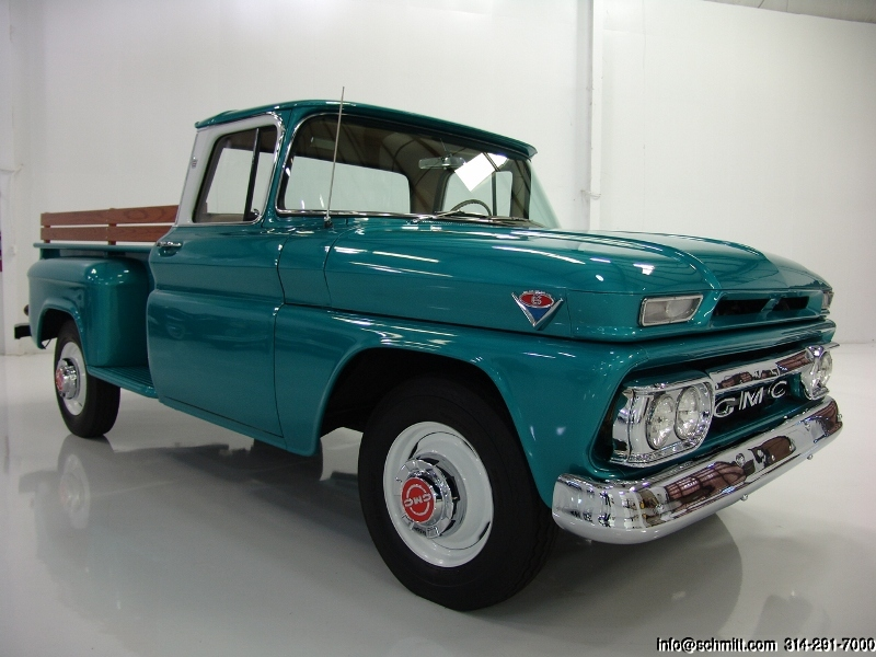 1963 Gmc 1500 Custom Cab Wideside Pickup  U2014 Daniel Schmitt  U0026 Company