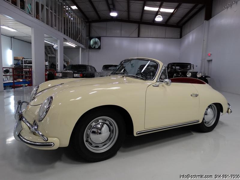 1959 PORSCHE 356A/1600 REUTTER CABRIOLET — Daniel Schmitt & Company