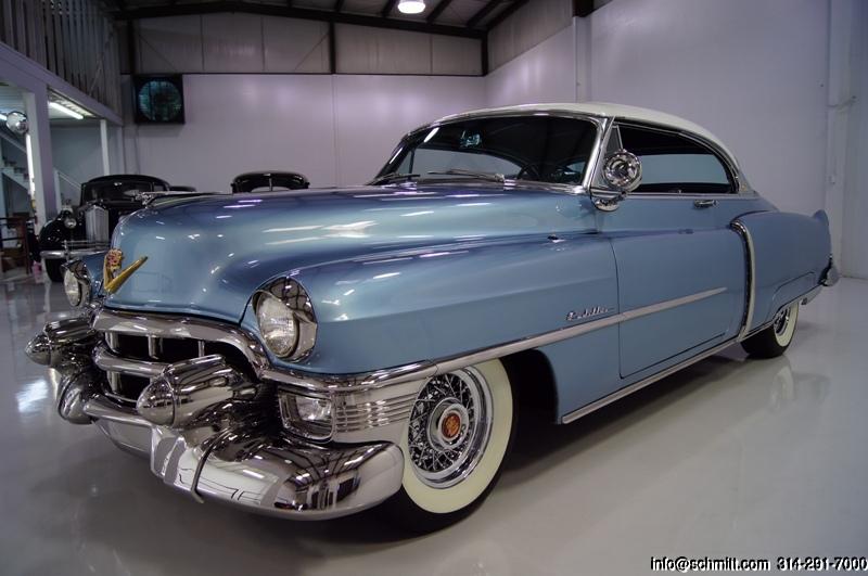 1953 cadillac series 62 coupe de ville daniel schmitt for 1953 cadillac 4 door