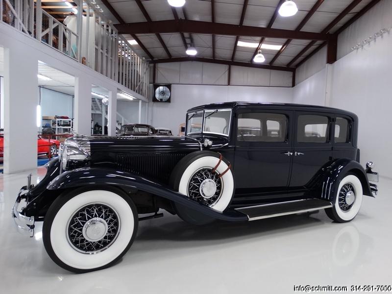 1931 CHRYSLER IMPERIAL CUSTOM 8 SEDAN – Daniel Schmitt & Co