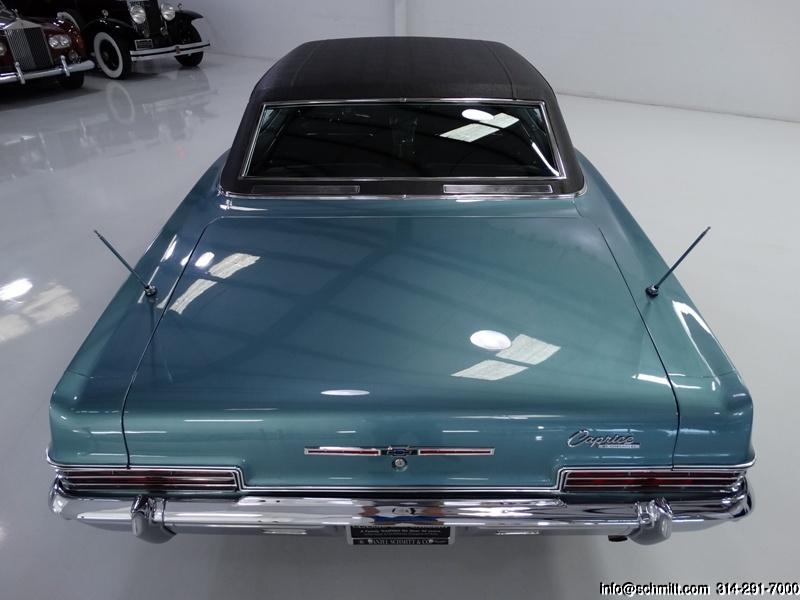 1966 CHEVROLET CAPRICE 2-DOOR CUSTOM COUPE 396 – Daniel