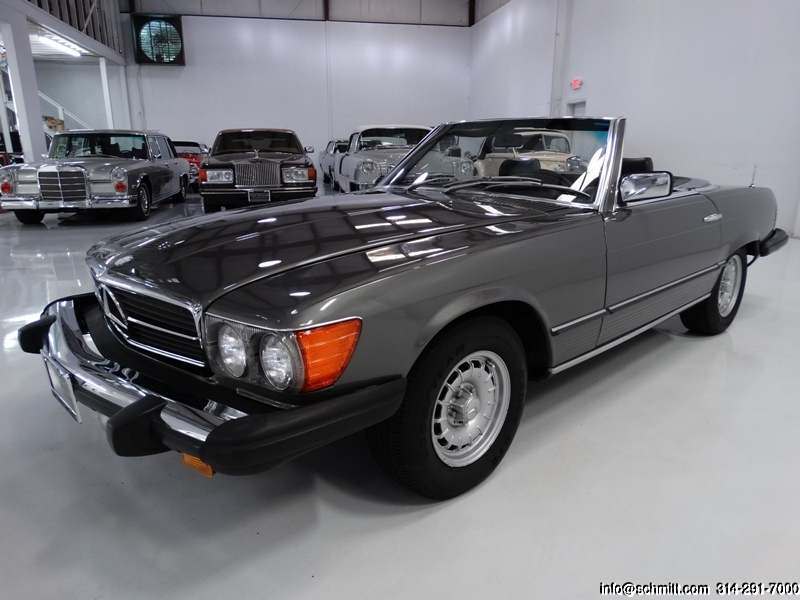 1980 mercedes benz 450sl roadster daniel schmitt company. Black Bedroom Furniture Sets. Home Design Ideas