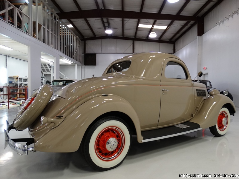 1935 FORD 3-WINDOW COUPE — Daniel Schmitt & Company