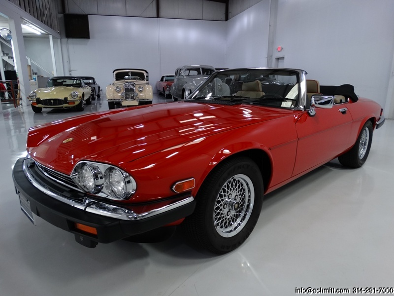 1991 JAGUAR XJS COLLECTOR SERIES CONVERTIBLE — Daniel Schmitt & Company