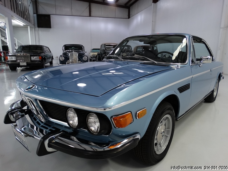 1973 BMW 3 0CS COUPE – Daniel Schmitt & Co