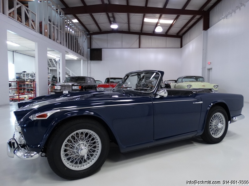 1966 TRIUMPH TR4A IRS ROADSTER – Daniel Schmitt & Co