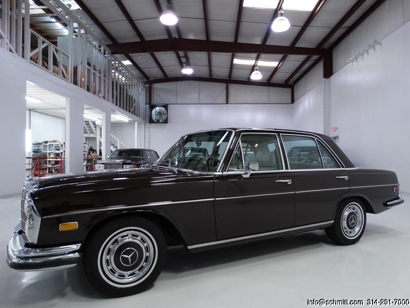 1972 mercedes benz 280se 4 5 sedan daniel schmitt co. Black Bedroom Furniture Sets. Home Design Ideas