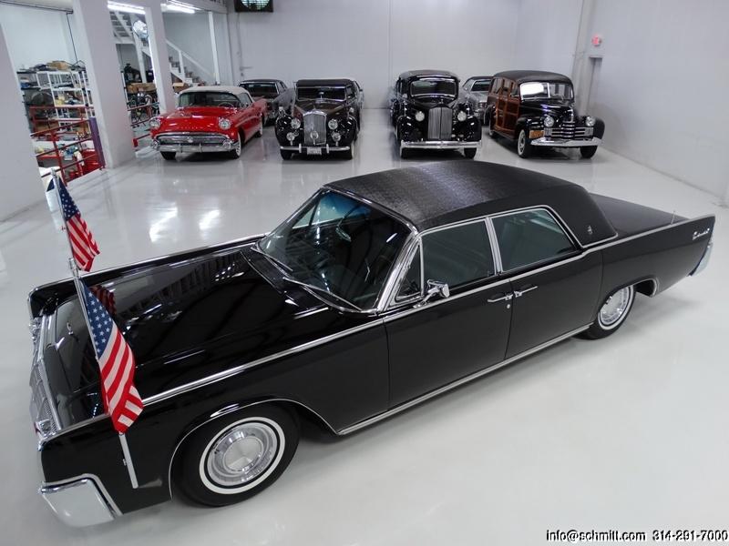 1962 Lincoln Continental Presidential Town Limousine Jfk Daniel