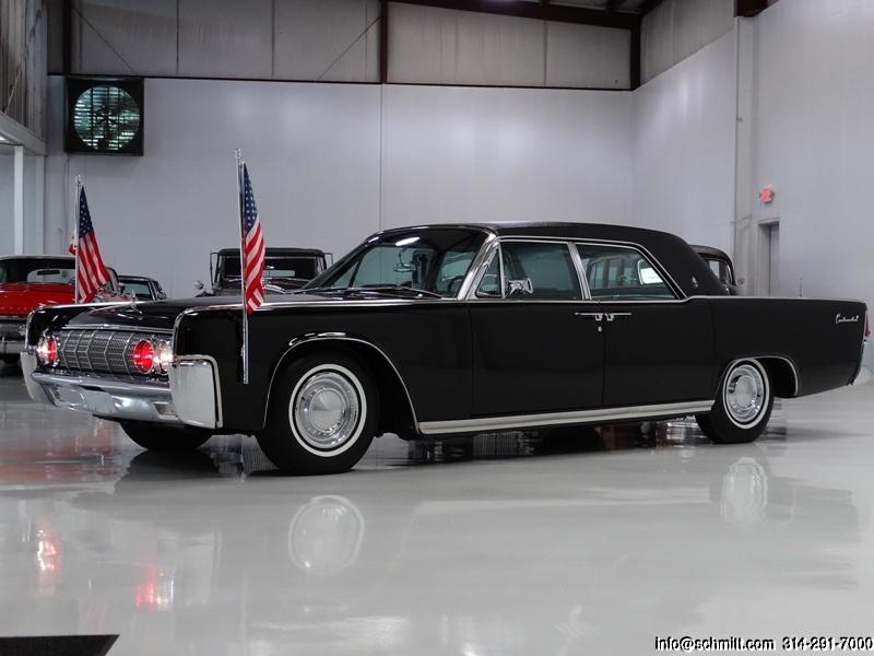 1962 lincoln continental limousine