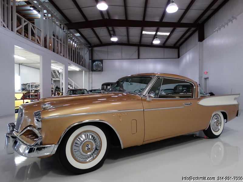 1957 STUDEBAKER GOLDEN HAWK – Daniel Schmitt & Co