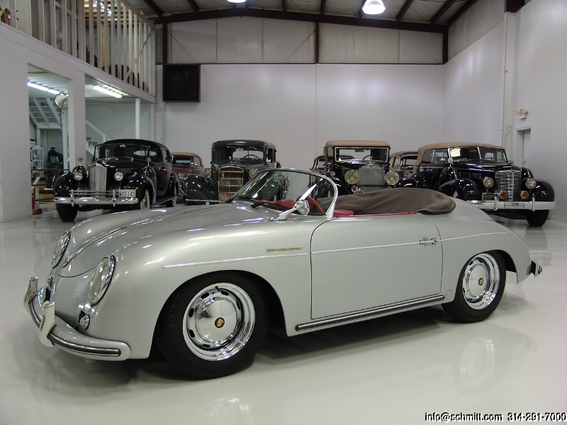 1957 porsche 356 speedster replica daniel schmitt company. Black Bedroom Furniture Sets. Home Design Ideas