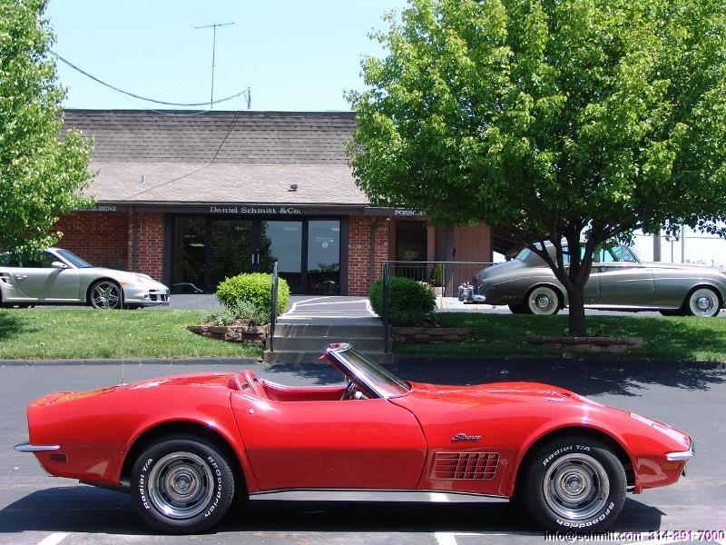 1970 corvette stingray 454 roadster daniel schmitt company. Cars Review. Best American Auto & Cars Review