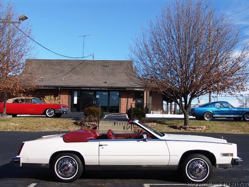 1984 Cadillac Eldorado Biarritz Convertible Low Miles Daniel