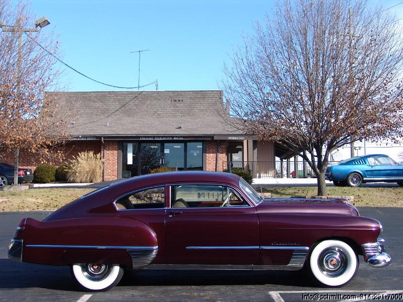 1949 Cadillac Club Coupe Fastback Series 62 Daniel