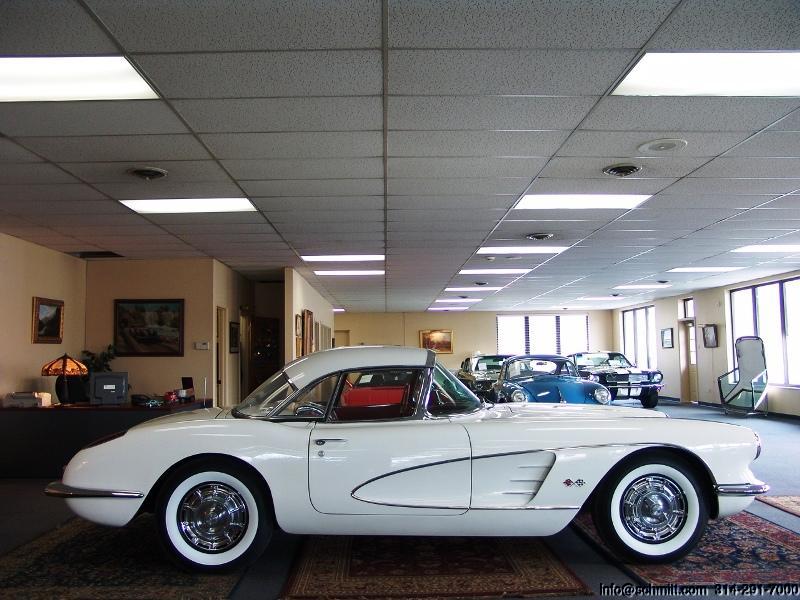 Jack Schmitt Chevrolet >> 1960 CHEVROLET CORVETTE ROADSTER LOW MILES — Daniel Schmitt & Company