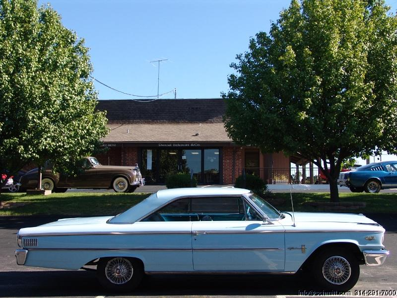 1963 1/2 FORD GALAXIE 500 FASTBACK 427 ONE FAMILY OWNED