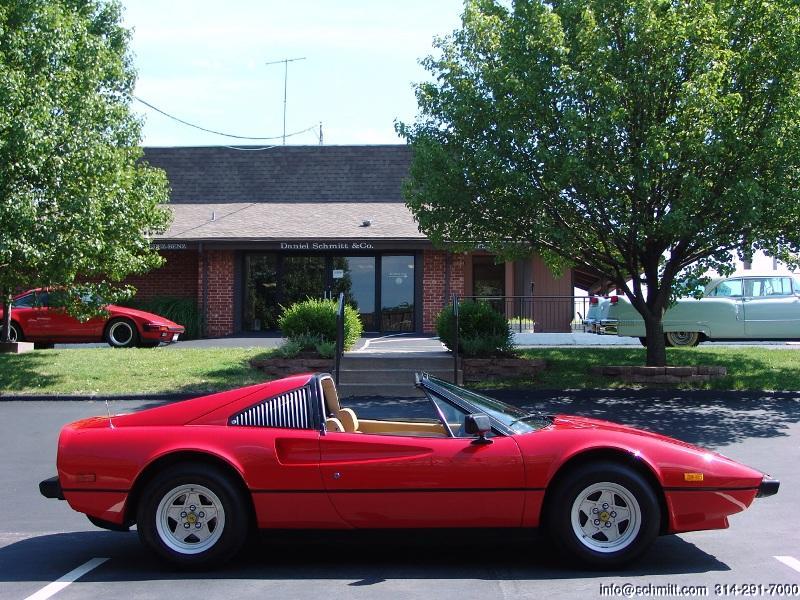 1979 FERRARI 308 GTS, ONLY 10,000 ORIGINAL MILES!! — Daniel Schmitt