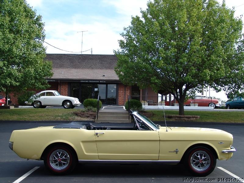 1964 1 2 Ford Mustang Convertible First Year Production 289 V8 Daniel Schmitt Co
