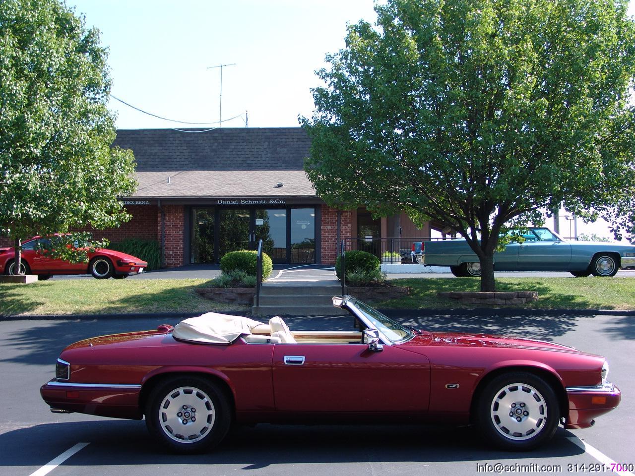Jaguar Daniel Schmitt Company 1970 Xj6 In Sapphire Blue 1996 Xjs 4 Passenger Convertible