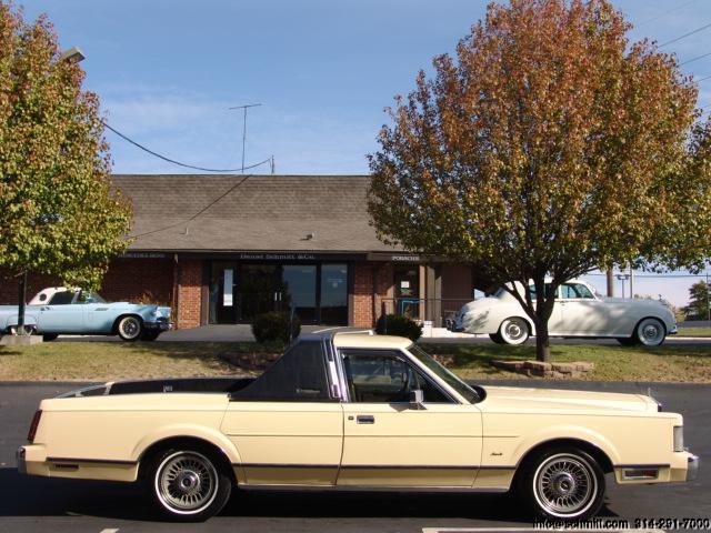 1985 Lincoln Towncar Special Built Pickup Daniel Schmitt Company