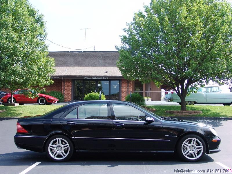 2003 mercedes benz s55 amg daniel schmitt company for Mercedes benz s55